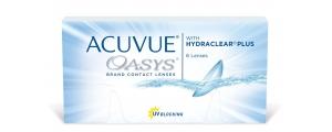 CUVUE OASYS 48pck עסקה שנתית עדשות שבועיות/דו-שבועיות Johnson & Johnson