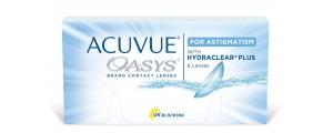 Acuvue Oasys For Astigmatism 48pck עיסקה שנתית עדשות שבועיות/דו-שבועיות עם צלינדר Johnson & Johnson