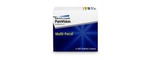 עדשות מגע חודשיות מולטיפוקל Purevision Multifocal