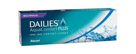 עדשות מגע יומיות מולטיפוקל דייליס אקווה קומפורט פלוס DAILIES AQUACOMFORT PLUS Multifocal