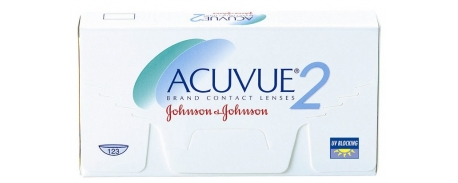 עדשות מגע דו שבועיות אקיוביו Acuvue 2