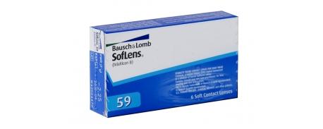עדשות מגע חודשיות Soflens 59