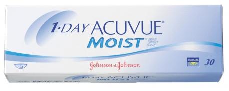 עדשות מגע יומיות 1Day Acuvue Moist