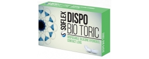 Dispo Bio Toric עדשות חודשיות טוריות דיספו ביו