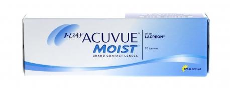 עדשות מגע יומיות אקיוביו מויסט 1Day Acuvue Moist
