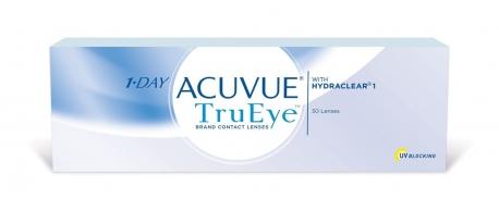עדשות מגע יומיות אקיוביו טרו איי *במבצע 3+1* 1Day Acuvue TruEye