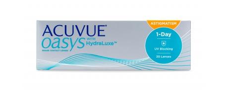 אקיוביו אואזיס טוריות Acuvue Oasys 1 Day for Astigmatism