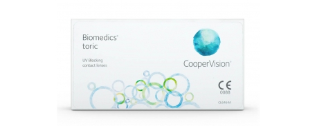 Biomedics Toric עדשות חודשיות טוריות ביומדיקס