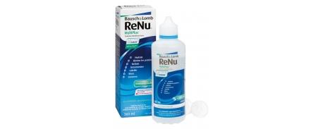 תמיסות לעדשות מגע רניו Renu